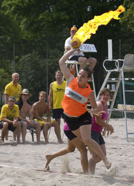 Beachhandball - Bretzenum Beach 2009 in Mainz