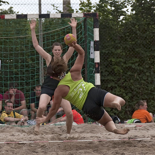 Beachhandball - Bretzenum Beach 2011 in Mainz