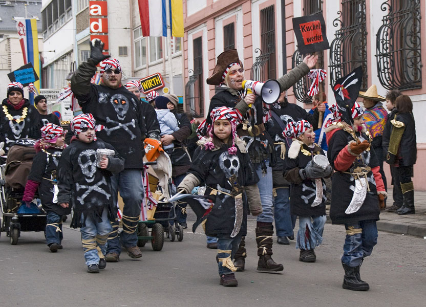 Jugendmaskenzug in Mainz - Fastnacht 2010